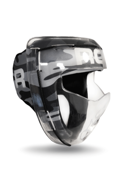 Rofy Hockey Masker Camo zwart